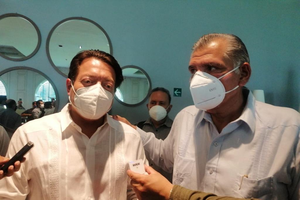 Refrenda gobernador apoyo a Mario Delgado para la dirigencia nacional de MORENA
