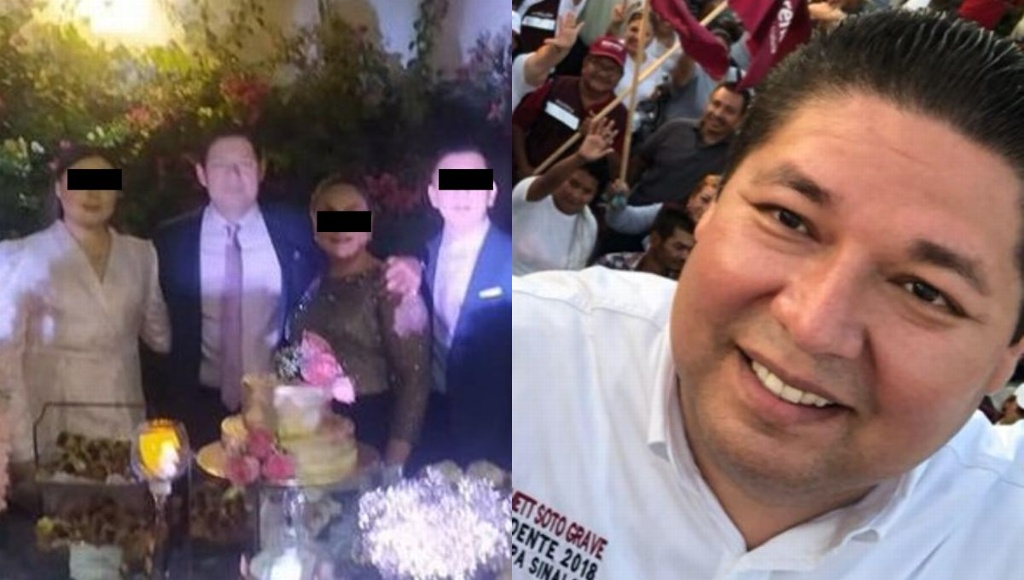 Alcalde arma fiesta tras recibir vacuna contra COVID, en Sinaloa